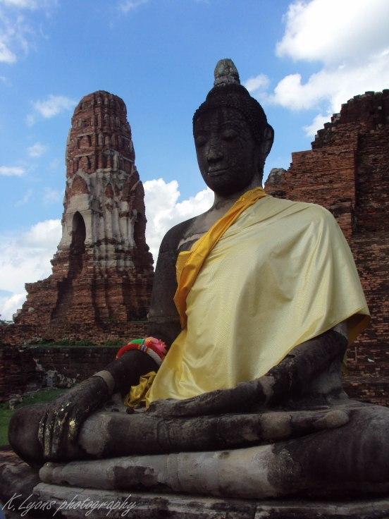 Sitting Buddha, Ayutthaya
