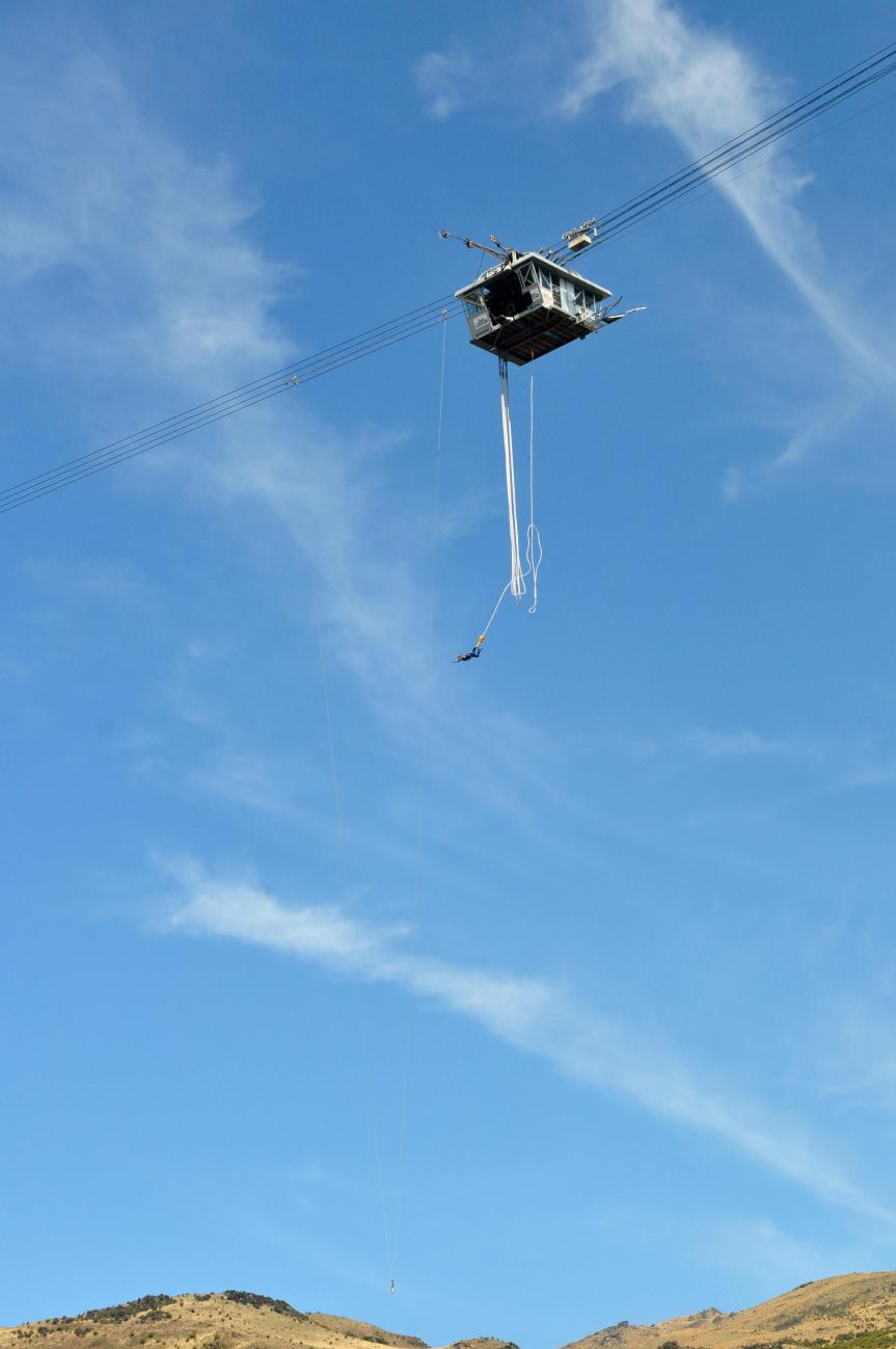 New Zealand: Facing my fears at the NevisBungy
