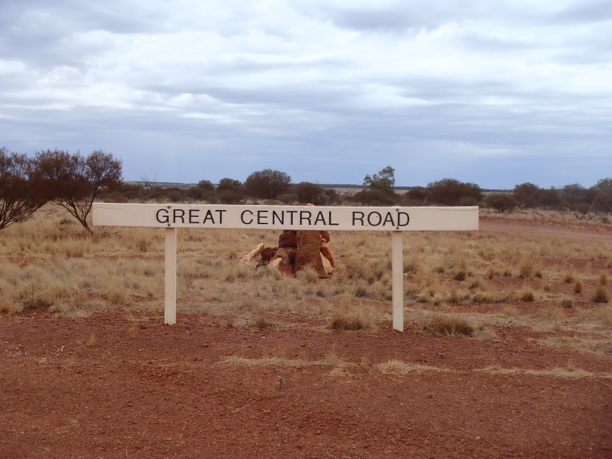 Australia: The Great Central Road – 1126km's of red dirt!
