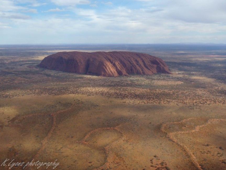Australia: Ayers Rock – A (bird's eye view) photodiary.