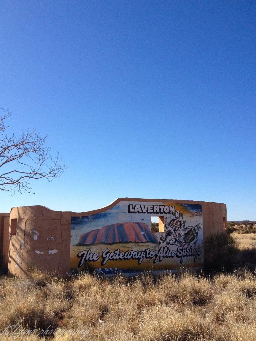 Australia: The little town of Laverton